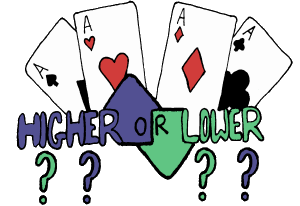 HTML5 card game - Higher or Lower